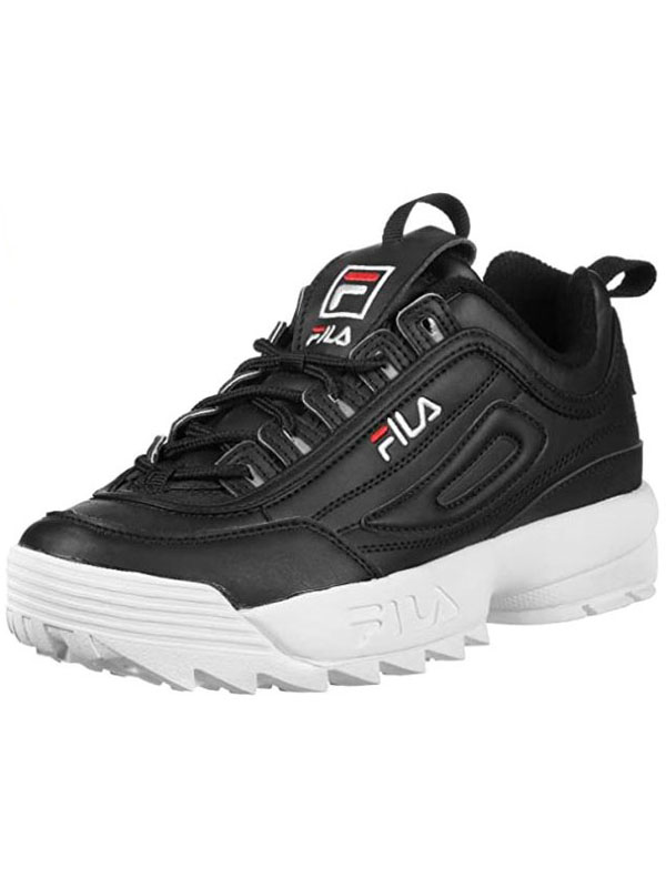 SCARPA FILA DISRUPTOR LOW BLACK – ABM Calzature